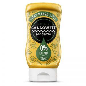 Σάλτσα Κάρυ Μάνγκο Callowfit Curry Mango Style Sauce 300ml