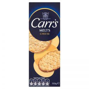 Κράκερ με Τυρί Carrs Melts Cheese 150g