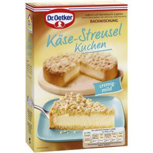 Μείγμα για Κέικ Τυριού Dr. Oetker Kase Streuselkuchen 730g