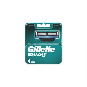 Κεφαλές Ξυρίσματος 4 Ανταλλακτικά Gillette Mach 3