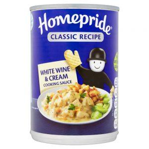 Σάλτσα Μαγειρικής Homepride White Wine and Cream Cooking Sauce 400g
