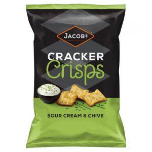 Κράκερ Jacobs Cracker Crisps Sour Cream Chive 150g