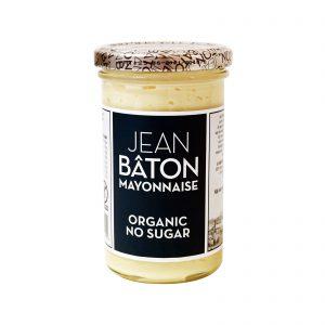 Μαγιονέζα Βιολογική Jean Baton Mayonnaise Organic No Sugar 235g