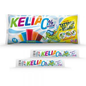 Γρανίτες Χωρίς Ζάχαρη Kelia No Sugar Ice Pops Fruit Flavours 540ml