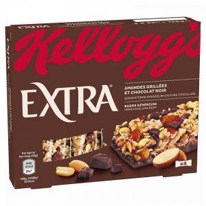 Μπάρα με Σοκολάτα και Αμύγδαλο Kelloggs Extra Roasted Almonds and Dark Chocolate 4x32g