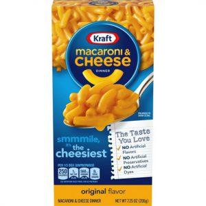 Έτοιμο Γεύμα Mac and Cheese Kraft Macaroni and Cheese Dinner Original Flavour 206g