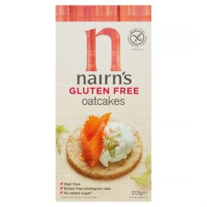Κράκερ Βρώμης Χωρίς Γλουτένη Nairns Gluten Free Oatcakes 213g