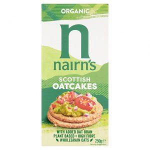 Κράκερ Βρώμης Βιολογικά Nairns Organic Scottish Oatcakes 250g