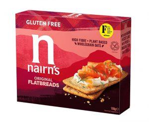 Φρυγανιές Χωρίς Γλουτένη Nairns Gluten Free Original Flatbreads 150g