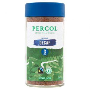 Στιγμιαίος Καφές Percol 3 Delicious Decaf Instant Coffee 100g