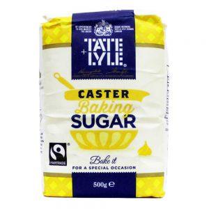 Ζάχαρη Λευκή για Γλυκά Tate and Lyle Caster Baking Sugar 500g