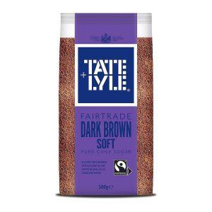 Ζάχαρη Μαύρη Tate and Lyle Dark Brown Soft Pure Cane Sugar 500ml