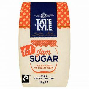Ζάχαρη για Μαρμελάδα Λευκή Κρυσταλλική Tate and Lyle Jam Sugar 1kg