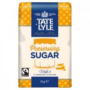 Ζάχαρη Λευκή για Preserves Tate and Lyle Preserving Sugar 1kg