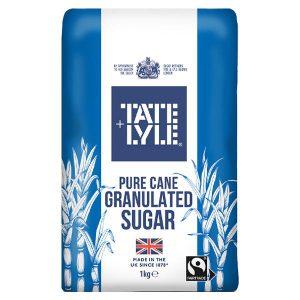 Ζάχαρη Λευκή Κρυσταλλική Tate and Lyle Pure Cane Granulated Sugar 1kg