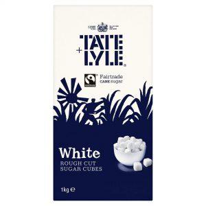 Λευκή Ζάχαρη Κύβοι Tate and Lyle White Rough Cut Sugar Cubes 1kg