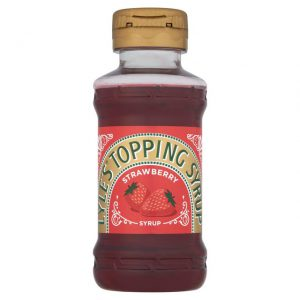 Σιρόπι Φράουλας Tate and Lyle Squeezy Lyles Topping Syrup Strawberry 325g