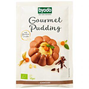 Μείγμα Για Πουτίγκα Σοκολάτας Βιολογικό Χωρίς Γλουτένη Byodo Gourmet Pudding With Bourbon Vanilla Organic Gluten Free 46g