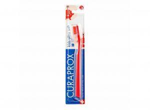 Παιδική Οδοντόβουρτσα Εξαιρετικά Μαλακή Σε Κόκκινο Χρώμα Για 4 Έως12 Χρονών Curaprox 5500 Kids Ultra Soft Red