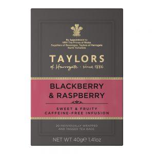 Αφέψημα Με Φρουτώδη Γεύση Βατόμουρου Και Σμέουρου Taylors of Harrogate Blackberry And Rasberry Infusion 40g