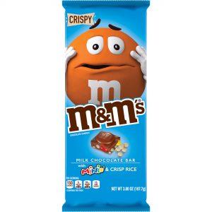 Σοκολάτα Γάλακτος Με Τραγανό Ρύζι Και Κουφετάκια Mars MandMs Milk Chocolate Bar With Mini MandMs And Crisp Rice 150g