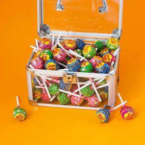 Γλειφιτζούρια Μικρά Σε Διάφορες Γεύσεις Chupa Chups Mini Lollipops 35 Pieces 210g