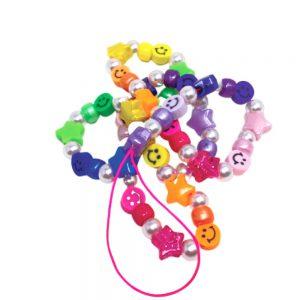 Αξεσουάρ Κινητού The Mamacita Store Handmade Phone Strap Smiley Rainbow Stars