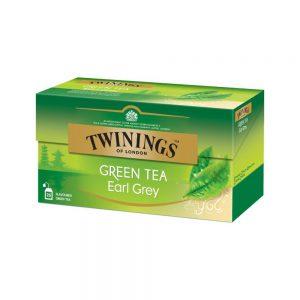 Τσάι Πράσινο Twinings Green Tea Earl Grey 25 Tea Bags