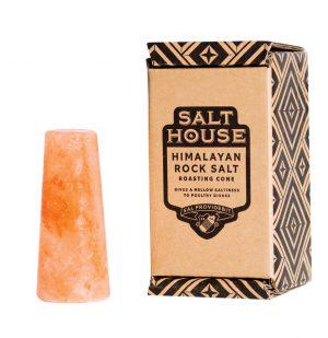 Κώνος Από Ορυκτό Αλάτι Ιμαλαΐων Για Ψήσιμο Στο Φούρνο Salthouse Himalayan Rock Salt Roasting Cone In Display Box 860g