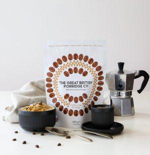 Νιφάδες Βρώμης Καφές Vegan Gluten Free The Great British Porridge Cafe Latte 385g
