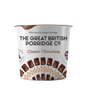 Νιφάδες Βρώμης Σοκολάτα Vegan Gluten Free The Great British Porridge Classic Chocolate 60g