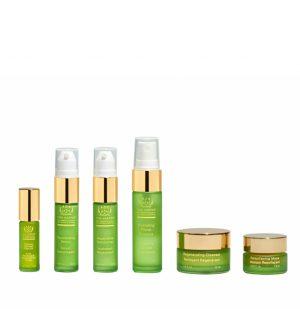 Tata Harper Tata's Regenerating Cleanser 15ml | Resurfacing Mask 7.5ml | Hydrating Floral Essence 15ml |  Rejuvenating Serum 2.0 10ml | Retinoic Nutrient Face Oil 4ml | Repairative Moisturizer 10ml Daily Essentials