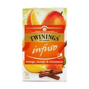 Αφέψημα Βοτάνων Twinings Infuso Orange Mango and Cinnamon 20 Tea Bags