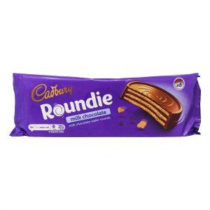 Γκοφρέτες Σοκολάτας Cadbury Roundie Milk Chocolate Wafer Rounds 180g