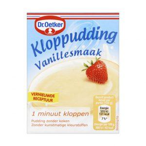 Κρέμα Βανίλιας Πουτίγκα Dr. Oetker Kloppudding Vanilla Cream 74g
