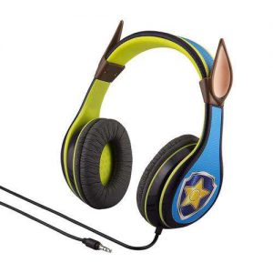 Paw Patrol Chase Παιδικά Ακουστικά Ενσύρματα Μπλε Λαχανί eKids Youth Headphones Over Ear