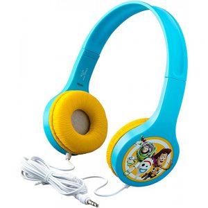 Toy Story Παιδικά Ακουστικά Ενσύρματα Γαλάζιο Κίτρινο eKids Entry Headphones On Ear
