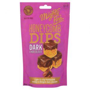 Γλυκό Σνακ Mighty Fine Honeycomb Dips Dark Chocolate 90g