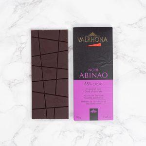 Μαύρη Σοκολάτα Valrhona Abinao Dark Chocolate Powerful and Tannic 70g