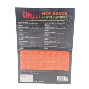 Ημερολόγιο Χριστουγέννων Chilli Lovers Advent Calendar 24 Days of Hot Sauce 12 Fiery Flavours 480g