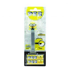Καρεκλάκια Σε Συσκευή Pez Minion Otto Candy Dispenser The Rise Of Gru With 2 Extra Candy Refills 17g