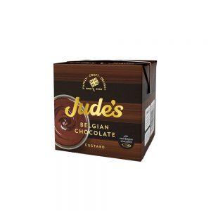 Κρέμα Σοκολάτας Με Πραγματική Βελγική Σοκολάτα Κάσταρντ Judes Belgian Chocolate Custard 500ml