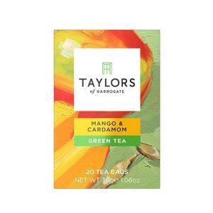Τσάι Πράσινο Μάνγκο Και Κάρδαμο Taylors Of Harrogate Mango And Cardamom Green Tea 20 Wrapped Tea Bags 30g