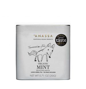 Βιολογική Μέντα Σε Μεταλλικό Κουτί Anassa Organic Mint Tin 20g