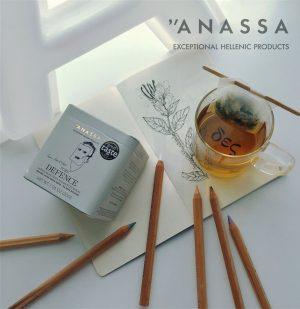 Μείγμα Βιολογικών Βοτάνων Σε Μεταλλικό Κουτί Anassa Organics Pure Defence Tin 30g