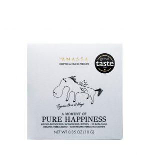 Μείγμα Βιολογικών Βοτάνων Σε Φακελάκια Anassa Organics Pure Happiness 10 Enveloped Tea Sachets 10g