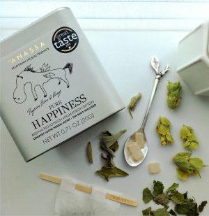 Μείγμα Βιολογικών Βοτάνων Σε Μεταλλικό Κουτί Anassa Organics Pure Happiness Tin 20g