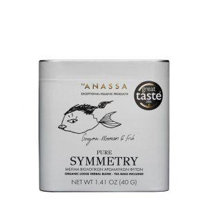 Μείγμα Βιολογικών Βοτάνων Σε Μεταλλικό Κουτί Anassa Organics Pure Symmetry Tin 40g