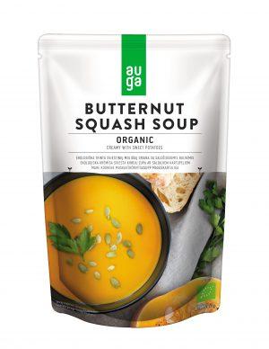Σούπα Έτοιμη Κολοκύθα Με Γλυκοπατάτα Βιολογική Auga Butternut Squash Soup Organic Vegan 400g