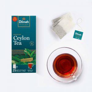 Τσάι Μαύρο Dilmah Premium Ceylon Black Tea 25 Wrapped Tea Bags 50g